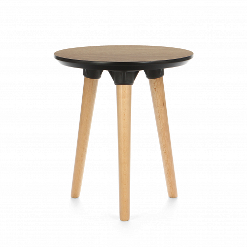 Кофейный стол MolassesКофейные столики<br>Серия столов Molasses — это три модели, среди которых обеденные и кофейные столы. Названы они так по столешнице, которая имеет приятный теплый коричневый цвет и натуральную текстуру дерева. В переводе с английского molasses означает «патока». Это густой тягучий сироп,продукт неполного осахаривания крахмала. В стандартном представлении, он имеет насыщенный кофейный цвет.<br> <br> Кофейный стол Molasses — завершающая модель линейки. От своих собратьев он отличается высотой и диаметром столешн...<br>