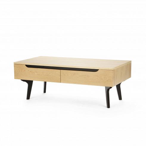 Кофейный стол SandyКофейные столики<br>Sandy — коллекция интерьерной мебели, объединенная стилистикой, цветом, формами и материалом. Сдержанность и лаконичность — конек данной линейки. Однако в то же время мебель из этой коллекции стильная и современная. Ею легко дополнить любой современный интерьер в стиле конструктивизма, который в свою очередь популярен благодаря продуманности до мельчайших деталей. Вот и каждая деталь кофейного стола Sandy служит двум целям — быть удобной, а также долговечной в использовании.<br> <br> Кофейн...<br>