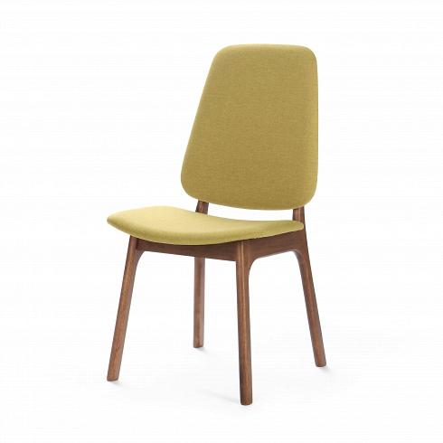 Стул RadleyИнтерьерные<br>Созданный на основе современного стиля, а также с упором на скандинавский модерн стул Radley — отличный вариант обеденной мебели как для маленькой квартирки, так и для роскошной современной виллы. Светлая желтовато-зеленая обивка сиденья в сочетании с ножками изтемной натуральной древесины смотрится свежо и современно.<br> <br> Стул Radley также отлично подойдет к интерьеру кабинета в качестве рабочего стула. Благодаря мягкой обивке из полиэстера на стуле сидеть очень комфортно, и мож...<br>