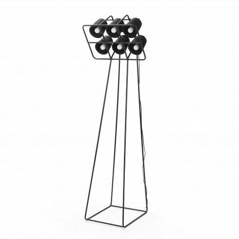 Напольный светильник MultilampНапольные<br>Напольный светильник Multilamp от дизайнера Эмануэле Маджини — это ультрамодный софит, соединяющий в себе свет шести ярких LED-ламп. Строгий дизайн светильника определенно придется по вкусу всем любителям грубоватых форм. Четкие грани и правильные геометрические формы изделия говорят о превосходном вкусе создателей этого софита.<br> <br> Порой компания Seletti, для которой напольный светильник Multilamp и<br> был разработан, демонстрирует совершенно необычные для себя линейки. Но<br> тут компания ост...<br>