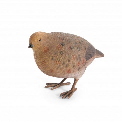 Статуэтка BirdНастольные<br>Что может быть прекрасней, чем следы дикой природы в домашнем интерьере! Не всегда получается выйти прогуляться в лес или поля и насладиться щебетанием птиц или понаблюдать за беготней белок. Так почему бы не попробовать добавить частичку природы в свой домашний интерьер и иметь возможность любоваться ею столько, сколько захочется?<br><br><br> Статуэтка Bird (в переводе с английского «птица») представляет собой двух симпатичных птичек, с любопытством смотрящих вокруг. Статуэтка изготовлена из с...<br>