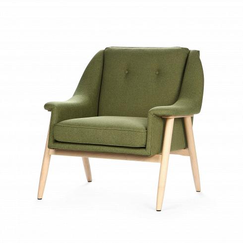 Кресло EdinburgИнтерьерные<br>Кресло для отдыха сподлокотниками спростым исовременным дизайном.<br><br><br> Кресло Edinburgпервоначально было разработано в1954 году. Настоящий датский шедевр ручной работы. Это одна из многих работФинна Юля, датского дизайнера, новатора своего времени, предназначенная для массового производства. <br><br><br>Кресло Edinburg построено по органическим лекалам, вкоторые идеально вписывается человеческое тело, что кресло делает незаменимым для отдыха. Классиче...<br>