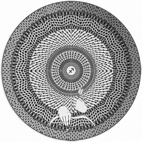 Тарелка знак зодиака СтрелецПосуда<br><br>