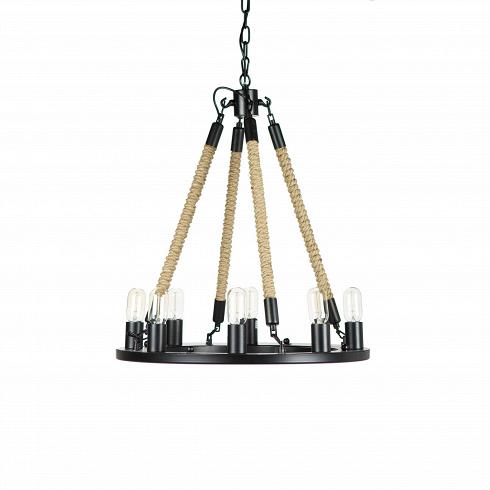 Подвесной светильник Bulb Candle 8 ламп диаметр 60Подвесные<br>Очевидно, что дизайнерподвесного светильника Bulb Candle 8 ламп диаметр 60 не принадлежит робкому десятку. Яркий запоминающийся дизайн люстры нельзя отнести к чему-то незаурядному и скучному, напротив, такой светильник наверняка освежит любой современный интерьер. Дизайнер попытался совместить традиционный подвесной подсвечник и люстру в одном индустриальном и при этом современном дизайне. Результат ошеломителен — изделие получилось не только модным, но и совершенно не имеющим анало...<br><br>DESIGNER: Kevin Reilly