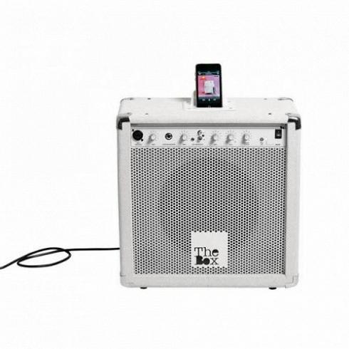 Комбоусилитель The BoxРазное<br>Комбоусилитель The Box — это оригинальный Hi-Fi-усилитель, который отлично подходит для воспроизведения музыки большинства цифровых медиаплееров, включая iPod иiPhone.<br><br><br><br><br><br> Винтажный комбоусилитель The Box отитальянского бренда Seletti порадует творческие натуры илюдей счувством вкуса кпрекрасному. Оригинальный аксессуар привлечет внимание истанет элементом декора.<br>