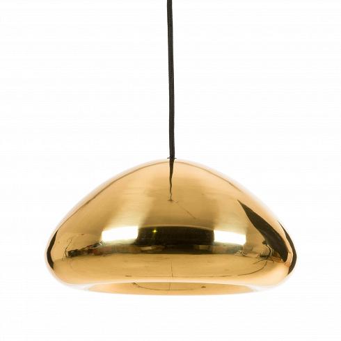 Подвесной светильник VoidПодвесные<br>Цветовая палитра светильников Void ассоциируется сцветами олимпийских медалей. Несколько футуристичный дизайн суглублением поцентру позволяет концентрировать световой луч водном фокусе. Форма каждого изделия «вылепливается» вручную изчистого металла. Назавершающем этапе поверхности модели придается зеркальный эффект путем тщательной полировки, после которой наносится специальный лак для достижения максимального глянца.<br><br>DESIGNER: Tom Dixon