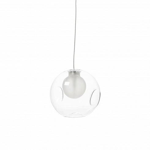 Подвесной светильник Round 28.1Подвесные<br>Минималистичный хай-тек дизайн подвесного светильника Round - беспроигрышный вариант для различных современныхинтерьеров в холодных цветах.<br><br>Благодаря небольшому размеру изделия, реализовать многоуровневое освещение, которое так популярно в Европе и штатах,просто, как никогда. Если вы располагаете нереализованными по части дизайна амбициями - дерзайте! К тому же, сочетать Round можно и с другими моделями подвесных и настенных светильников из дутого белогои прозрачног...<br>