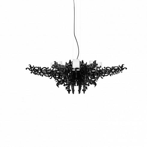 Подвесной светильник Mansion ChandelierПодвесные<br>Люстра Mansion - чистоевеликолепие,пронизанное викторианской эпохой, носотворенное уже внаши дни.<br><br><br>Эта чудесная люстра подарит вашей комнате нетолько приятное освещение, ноиудивительную атмосферу изысканности. Налет старины превосходно сочетается салюминиевыми деталями, созданными при помощи инновационных технологий. Люстра излучает мягкий, но насыщенныйсвет, который придется кместу ивбольших гостевых помеще...<br>