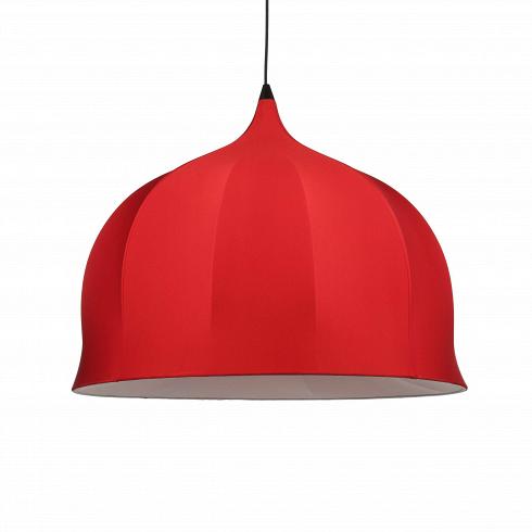 Подвесной светильник Dome Modern диаметр 80Подвесные<br>Dome&amp;mdash; подвесной светильник под названием Dome («купол»), которое онполучил из-за формы абажура.<br> <br>Внутренний каркас— стальная проволока, абажур выполнен изэластичного полиэстера черного / красного / белого цвета (внутренняя поверхность— термостойкая ткань). Рекомендуется очищать абажур отпыли при помощи щетки-ролика слипкой поверхностью.<br> <br>Dome— оригинальная модель для стильного интерьера.<br><br>DESIGNER: Jameelah El-Gahsjgari