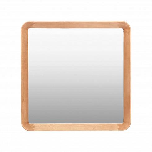 Настенное зеркало Velodrome квадратноеНастенные<br>Дизайнер Шон Дикс знает толк в современном минималистичном интерьере. За годы своего становления как дизайнера Дикс разработал свой фирменный стиль, состоящий из мотивов нескольких стилей в интерьере — эко и хай-тек. Если взглянуть хотя бы на несколько его работ, то впредь распознать авторский почерк будет несложно. Экоматериалы, сглаженные линии, натуральная текстура дерева — это постоянные атрибуты мебели и декора от Дикса. Мебель Шона Дикса минималистична иинтеллектуальна, прекрасно ...<br><br>DESIGNER: Sean Dix