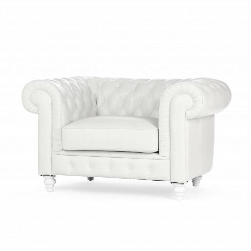 Кресло ChesterfieldИнтерьерные<br>Кресла, которые отличаются нестареющим иуникальным дизайном икоторые никогда невыйдут измоды ибудут продолжать очаровывать даже через тысячу лет— таковы кресла Честерфилд (Chesterfield), престижные предметы мебельной обстановки изкожи или изткани, реализуемые страдиционной отделкой «капитоне», выполняемой полностью вручную, инапоминающие остиле иопрошлом, наполненных смысла иочарования. Размеры иформы...<br>