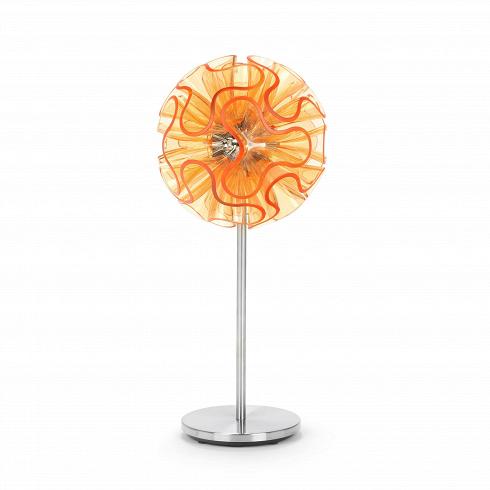 Настольный светильник Coral BallНастольные<br>Идея завораживающей игры солнечного света вкоралловых рифах нашла воплощение в серии светильников Coral. В коллекции имеются настольные, настенные, напольные и подвесные светильники. <br><br><br><br><br> Свет, излучаемый настольным светильником Coral Ball, плавно распространяется по плафонам, по форме напоминающим кораллы в океане. Благодаря специальной технологии рассеивания света, свет, излучаемый светодиодными лампами, равномерно распределяется по краю каждого диффузора.<br>