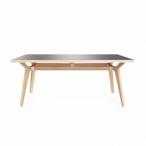 Стол BorasОбеденные<br>Когда дизайнеры компании Unika Moblar разрабатывали стол Boras, они представляли себе <br>просторное помещение, в котором работает несколько человек, или <br>столовую, где приятно собраться всей семьей. Стол Boras — прочная <br>конструкция, которая станет связующим звеном совместного <br>времяпрепровождения.<br>