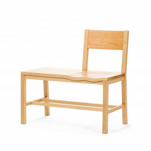 Скамья TomokoСкамьи и лавочки<br>Скамья Tomoko совершенно уникальна по своему дизайну — она представляет собой причудливую комбинацию скамьи и стула. С середины сиденья на скамье имеется спинка, а также легкая вогнутость, благодаря чему на скамье сидеть очень комфортно.Дизайн олицетворяет бесподобную и органичную комбинацию сдержанности и в тоже время креативности.<br> <br> Дизайнер скамьи Шон Дикс, чьи работы известны во всех прогрессивных странах, любит создавать неповторимый дизайн, в котором воплощена не то...<br><br>DESIGNER: Sean Dix