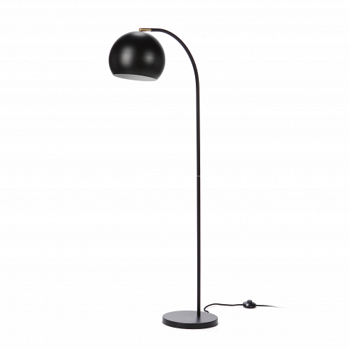Напольный светильник SphereНапольные<br>Напольный светильник Sphere — прекрасный пример эргономичности в дизайне. Длинная тонкая изящная ножка, плавно перетекающая в тяжелый плафон идеальной шарообразной формы, создает впечатление законченности и выдержанности.<br><br><br> В простоте создается идеальный стиль — именно так и сделан этот небольшой светильник в стиле модерн. Модерну присущи лаконичность и функциональность, и эти идеи, доведенные до крайности, может при помощи этого предмета интерьера реализовать любой поклонник минимали...<br>
