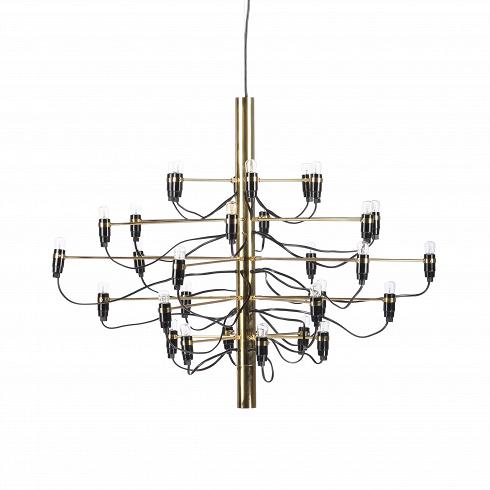 Подвесной светильник Model 2097 30 лампПодвесные<br>Подвесной светильник Model 2097 30 ламп — одна из самых популярных и лучших работ известного итальянского дизайнера Джино Сарфатти. Его называют отцом итальянского светодизайна. За свою долгую жизнь он удостоился множества наград, дважды — премии Compasso dOro, или «Золотой циркуль», в 1954 и 1955 годах.<br><br><br> Подвесной светильник Model 2097 30 ламп создан Джино Сарфатти в 1958 году, но его облик и сегодня считается ультрасовременным, неустаревающим, модным. Целей у именитого итальянца бы...<br><br>DESIGNER: Gino Sarfatti