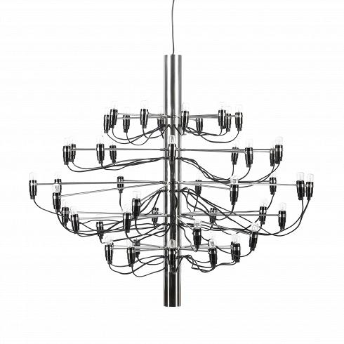 Подвесной светильник Model 2097 50 лампПодвесные<br>Подвесной светильник Model 2097 50 ламп — одна из самых популярных и лучших работ известного итальянского дизайнера Джино Сарфатти. Его называют отцом итальянского светодизайна. За свою долгую жизнь он удостоился множества наград, дважды — премии Compasso dOro, или «Золотой циркуль», в 1954 и 1955 годах.<br><br><br> Подвесной светильник Model 2097 50 ламп создан Джино Сарфатти в 1958 году, но его облик и сегодня считается ультрасовременным, неустаревающим, модным. Целей у именитого итальянца бы...<br><br>DESIGNER: Gino Sarfatti