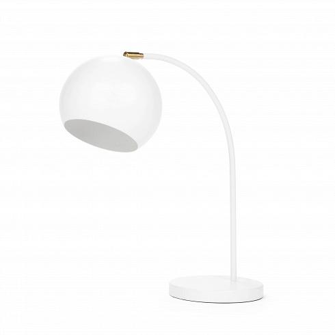 Настольный светильник SphereНастольные<br>Настольный светильник Sphere — прекрасный пример эргономичности в дизайне. Тонкая изящная ножка, плавно перетекающая в тяжелый плафон идеальной шарообразной формы, создает впечатление законченности и выдержанности.<br><br><br> В простоте создается идеальный стиль — именно так и сделан этот небольшой светильник в стиле модерн. Модерну присущи лаконичность и функциональность, и эти идеи при помощи этого предмета интерьера может реализовать любой поклонник минимализма в дизайне. Изящные линии наст...<br>