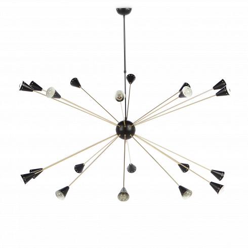 Потолочный светильник Arteriors StyleПотолочные<br>Потолочный светильник Arteriors Style — один из итальянских светильников шестидесятых годов XX века, воссозданный американской компанией Stilnovo. Stilnovo буквально обозначает «новый стиль». Эта марка известна своим необычным подходом к созданию светильников. Прежде всего они не просто делают лампы в стиле модерн, они создают новые направления и задают тон этого стиля уже много лет.<br><br><br> Потолочный светильник Arteriors Style не исключение. Лаконичность и функциональность будто воплощены ...<br>