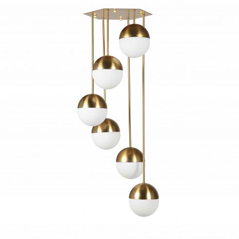 Потолочный светильник Stilnovo Style CascadingПотолочные<br>Потолочный светильник Stilnovo Style Cascading — это светильник-игрушка, светильник-праздник, который будет приятно радовать глаз и дарить свет и уют вашему дому. Этот великолепный предмет интерьера — яркий пример итальянского дизайна. Созданный в солнечной Италии в шестидесятых годах прошлого столетия, этот светильник мгновенно завоевал сердца покупателей; с момента создания он постоянно производится в разных модификациях.<br><br><br> Потолочный светильник Stilnovo Style Cascading — представите...<br>