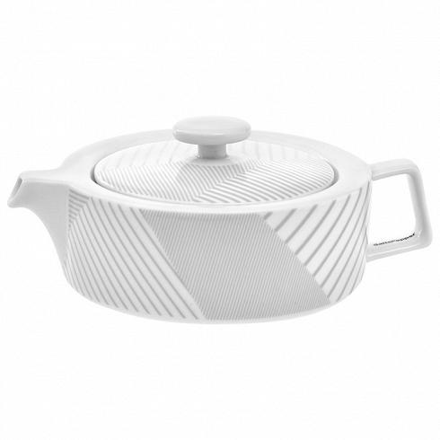 заварочный чайник MALVERN, подарочная упаковка (BAM38588)Посуда<br>Артикул: BAM38588. Заварочный чайник MALVERN из фарфора цвета утренней дымки и его достойное содержимое поведут в мир высоких гор и чистейших водопадов. Стоит заказать такой предмет сервировки luxury-класса MALVERN в подарочной упаковке, чтобы порадовать близких или удовлетворить свои эстетические потребности. Дизайн: Salt&amp;Pepper, Австралия.<br>