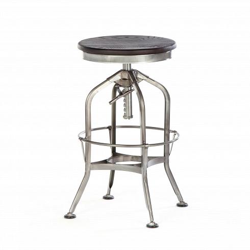 Барный стул Toledo Rondeau без спинкиБарные<br>Удобный и легкий барный стул Toledo Rondeau без спинки подходит для тех, кто ценит естественный симбиоз эстетичного дизайна и высокого качества. Сочетание стали и дерева выгоднее всего будет смотреться с кирпичной кладкой лофта или в сочетании с деревянными панелями, также эта модель будет органична в интерьерах эко или индустриального стиля.<br><br><br> Изначально стул был создан компанией Uhl Art Steel Company, которую основали братья Uhl на заре ХХ века. В наши дни его воздушная конструкция...<br>