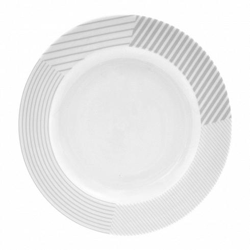 тарелка MALVERN (BAM41110)Посуда<br>Артикул: BAM41110. Стильная фарфоровая тарелка MALVER способна украсить сервировку любого стола, идеально сочетаясь с другими элементами, например, салатником. Мелкая столовая тарелка, выполненная в изысканном сером цвете, универсальна, подходит и для приема пищи, и для подачи холодных закусок на стол. При покупке элегантных тарелок MALVERN можно выбрать изделие нужного диаметра. Дизайн: Salt&amp;Pepper, Австралия.<br>