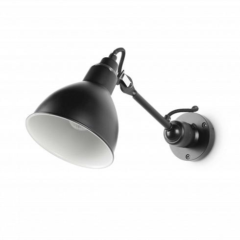 Настенный светильник Bernard-Albin Gras Style №304Настенные<br>Настенный светильник Bernard-Albin Gras Style №304 — прекрасный представитель коллекции дизайнерских светильников, которые создал французский инженер Бернар-Альбен Гра. Этот элемент интерьера представляет собой воплощение стиля модерн, ставшего чрезвычайно популярным в XX веке.<br><br><br> Изначально настенный светильник Bernard-Albin Gras Style №304 был предназначен для промышленного применения. Он был сделан прочно, но просто: никелированный абажур, стальные трубки каркаса, шарнирные соединен...<br>