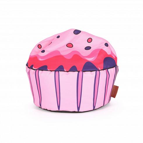 Пуф CupcakeПуфы и оттоманки<br>Если вы ищете веселое, жизнерадостное дополнение к своему интерьеру, то непременно обратите особое внимание на пуф Cupcake (в переводе с английского — «кекс»). Представленный пуф — это замечательное творение лучших дизайнеров бренда Lazy Life Paris. Пуф имеет форму аппетитного кекса или пирожного, которое так и тянет попробовать. Такой предмет мебели обязательно порадует сладкоежек и творческих людей.<br><br><br> Пуф Cupcake имеет EPS-наполнитель, который известен своими уникальными свойствами,...<br>