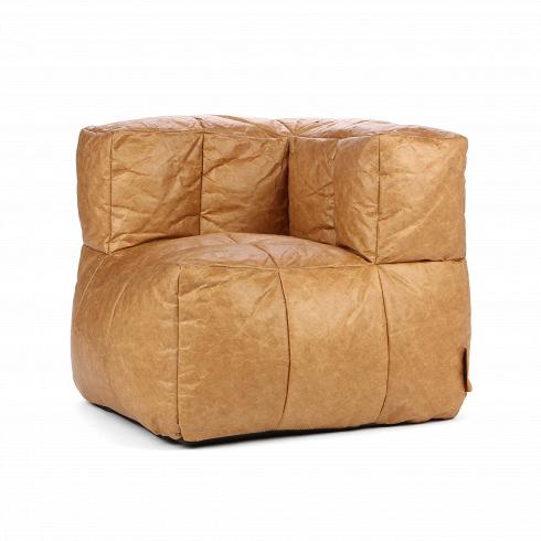 Кресло бескаркасное Palais Royal 1 крафтИнтерьерные<br>Кресло бескаркасное Palais Royal 1 крафт напоминает по форме небольшой одноместный диванчик, который благодаря своей интересной угловой форме и «пузатости» станет незаменимым местом вашего отдыха. Кресло создано лучшими дизайнерами известной компании Lazy Life Paris, сосредоточенной на создании максимально комфортной и уютной мебели, а бескаркасная мягкая мебель — изюминка коллекции этой компании. Кресло оформлено в оригинальном цвете крафтовой бумаги.<br><br><br> Кресло бескаркасное Palais Roya...<br>