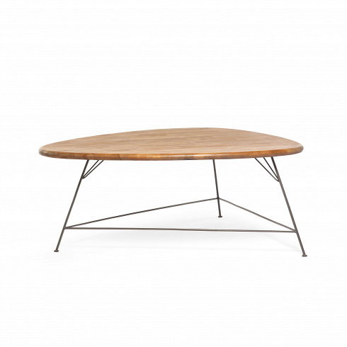 Стол Бермуда (Bermuda CT)Кофейные столики<br>ROOMERS – это особенная коллекция, воплощение всего самого лучшего, модного и новаторского в мире дизайнерской мебели, предметов декора и стильных аксессуаров. Интерьерные решения от ROOMERS – всегда актуальны, более того, они - на острие моды. Коллекции ROOMERS тщательно отбираются и обновляются дважды в год специально для вас.<br>