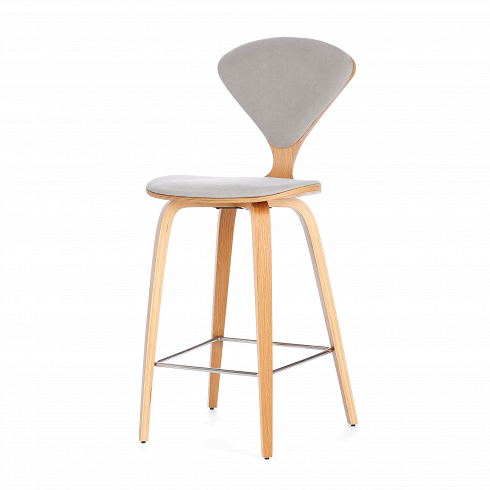 Барный стул Cherner с обивкой хуа кай star барный стул стул ребенка стул отдыха стул барный стул прием барный стул стулья hk103 черный