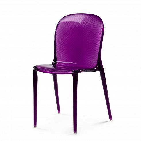 Стул VioletИнтерьерные<br>Дизайнерский стул Violet подогревает интерес к любому интерьеру, в котором он находится. Неважно, хай-тек это или же ар-деко, модерн или даже современный восточный интерьер, если в вашем интерьере присутствует данный предмет мебели с необычным фиолетовым оттенком, значит, похвалы вам обеспечены, как и внимание со стороны ваших гостей и друзей.<br><br><br> Купить стул Violet — это очень серьезное и оригинальное решение, ведь не каждый сумеет совладать с необычным, ярким и бросающимся в глаза ди...<br>