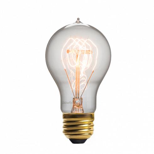 Винтажная лампа Эдисон Quad Loop (А19) 24 нитиРетролампочки<br>Стильная винтажная лампа Эдисон Quad Loop (А19) 24 нити — это изысканная, но при этом довольно простая лампа, выполненная в старом стиле. Создает гармонию в любом интерьере, привнося в него простоту и минимализм в сочетании с уникальностью и ультрамодным дизайном. <br><br><br>Купить винтажную лампу Эдисон Quad Loop (А19) 24 нити означает стать одним из ценителей индустриального дизайна. Интерьер в стиле стимпанк — это лучшее место, которое может освещать данная ретро модель, однако такую совре...<br>