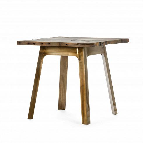 Обеденный стол YardbirdОбеденные<br>Индустриальный стиль не теряет популярности уже многие годы. Грубые формы, необработанные поверхности, простые и недорогие материалы. Кроме своеобразной эстетической привлекательности, стиль отличается практичностью и функциональностью.<br><br><br> Стол Yardbird — отличный образчик индустриального стиля. Столешница изготовлена из натуральной древесины, декорированной под старину. Она патинирована натуральными цветами, от бежевого до темно-коричневого с матовым покрытием. Сколы, трещины, вмятины...<br><br>DESIGNER: Sean Dix