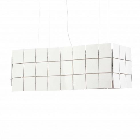 Подвесной светильник Cubrik 100 плитокПодвесные<br>Этот осветительный прибор – настоящий шедевр дизайнерского искусства. Дизайн придуманЭнтони Аролой, знаменитым испанским дизайнером, автором коллекции светильников Cubrik.<br><br><br> Выразительный и необычный дизайн визуально преобразит и освежит помещение. Уникальная конструкция, выполненная из лёгкого пластика, обеспечит мощным потоком света самое просторное помещение и внесёт в пространство нотки современного стиля. Белый цвет будет гармонировать с любым цветовым решением. Возможност...<br><br>DESIGNER: Antoni Arola