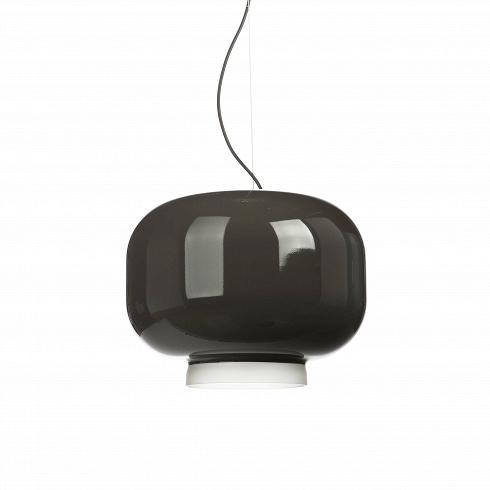 Подвесной светильник Chouchin диаметр 40Подвесные<br>Подвесной светильникChouchinсплафоном излакированного выдувного стекла.<br><br><br> Chouchin— традиционный японский фонарь избумаги ибамбука, который используется для украшения входов вобщественные заведения. Светильник Chouhin— это современная интерпретация этого фонаря. Внутренняя часть плафона имеет матовое покрытие, в то время как внешняя окрашена в яркий цвет.<br><br><br>Коллекция включает всебя три светильника разных размер...<br><br>DESIGNER: Ionna Vautrin