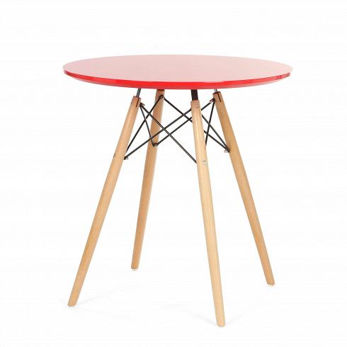 Обеденный стол Conundrum диаметр 70Обеденные<br>Выполненный в стилистике 60-х годов стол Conundrum диаметр 70 отвечает требованиям к мебели тех времен. Особенно ценились такие качества мебели, как функциональность и лаконичность. Обязательным элементом считались ножки (в данном случае — деревянные), устойчивые и при этом не массивные, которые делали пространство более легким и визуально «прозрачным». К тому же такое решение существенно упрощало уборку помещения. Высоко ценилась простота и отсутствие излишнего декора, и гладкая белая по...<br><br>DESIGNER: 142<br>DESIGNER: 291