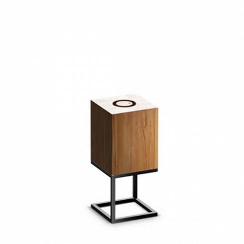 Настольный светильник Cubx S, Nut
