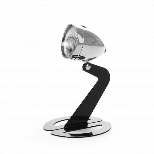 Настольный светильник BikelightНастольные<br>Настольный светильник Bikelight<br> выполнен виндустриальном стиле попроекту дизайнера Джоена Весселинка для дизайнерской студии Present Time.<br><br><br><br>Настольный светильник Bikelight обладает оригинальным абажуром вформе велосипедного или мотоциклетного фонаря.<br><br>DESIGNER: Jeroen Wesselink