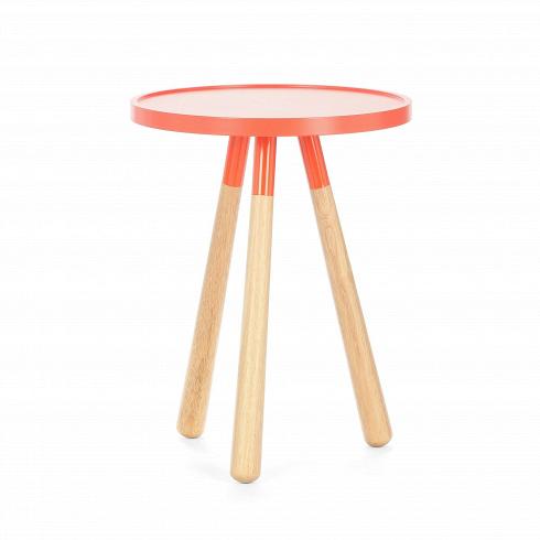 Кофейный стол OrbitКофейные столики<br>Кофейный стол Orbit<br>— это простой, современный, минималистичный пример новой классики.<br><br><br><br>Кофейный стол Orbit— это стильная оранжевая столешница иножки изнатуральной древесины. Его незатейливый дизайн позволяет вписаться влюбой интерьер.<br>