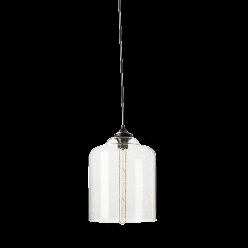 Подвесной светильник Bell JarПодвесные<br>Подвесной светильникBell Jar- изящная сестрица другой лампы - Campane из коллекции Bella, выполненной в той же стилистике и при использовании тех же материалов.<br> <br> Дизайн светильника разработан для тех, кто любит украшатьинтерьербольшим количеством подвесных ламп. Подвесив несколько таких светильников рядом, вы непременно добьетесь ошеломляющего эффекта, способного порадовать ваших гостей и домашних.<br> <br> Минималистичный дизайн светильника освежен необычной лампой на...<br><br>DESIGNER: Jeremy Pyles