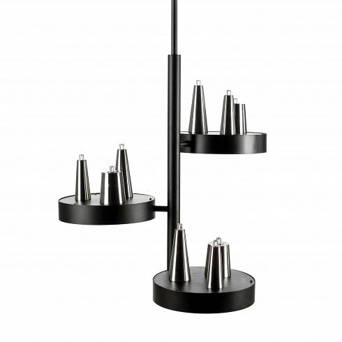 Подвесной светильник Table d'Amis 3Подвесные<br>Компания Brand Van Egmond появилась в Голландии 25 лет назад. Архитектор Уильям Бранд и скульптор Аннет ван Эгмонд основали небольшую частную студию, где проектировали и создавали вручную настоящие шедевры. Люстры, светильники, торшеры и бра были настолько необычными и выразительными, что вскоре стали украшением домов многих знаменитостей и королевских апартаментов. Со временем маленькая студия разрослась – теперь это огромные производственные площади и ежегодные показы новых коллекций.<br>...<br><br>DESIGNER: William Brand, Annet van Egmond