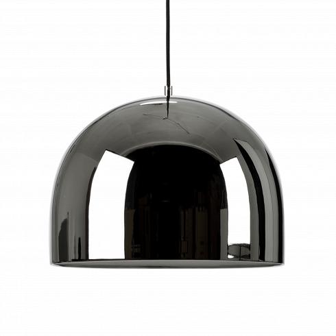 Подвесной светильник Corp диаметр 28Подвесные<br>Для помещений с высокими потолками важно подобрать подходящую люстру, которая бы подчеркивала достоинства комнаты. Предлагаем обратить внимание на светильник Corp D280, идеально соответствующий этим пожеланиям.<br><br><br>Для изготовления этого светильника используется облегченный металл двух вариантов расцветки: темно-серый и розовое золото. Хромированная зеркальная поверхность абажура, имеющего диаметр 28 см, создает дополнительный визуальный эффект увеличения высоты комнаты. Форма идеального...<br>