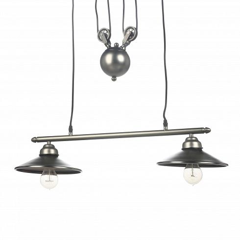 Подвесной светильник MechanismПодвесные<br>Замысловатая конструкция подвесного светильник Mechanism уже сама по себе будто инсталляция из какого-нибудь музея современных искусств. Ощущение, что это не просто светильник, а часть объемного механизма, заложено уже в самом названии. Использованные в изготовлении материалы (стекло, сталь) и отдельные псевдофункциональные элементы — это стилизация под один из самых актуальныхдля нашего столетиястилей техно.<br> <br> Интерьеры в стиле техно больше подходят тем, кто не особо ценит иде...<br>