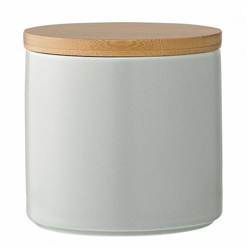 Емкость для хранения с крышкой Wood & Grey