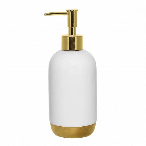 Диспенсер для мыла White&Gold