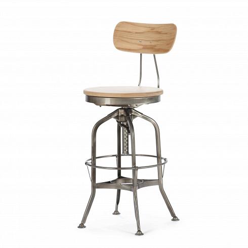 Барный стул Toledo RondeauБарные<br>Прочный, надежный, простой, но вместе с тем утонченный и привлекающий внимание барный стул Toledo Rondeau — это представитель знаменитой винтажной мебели. Он лучше всего будет смотреться в помещении, стилизованном под лофт, к этому стулу не останется равнодушным ни один любитель индустриального стиля. Стальной каркас, продуманные элементы конструкции, сиденье из натурального дерева — барный стул Toledo Rondeau будет лучшим решением для тех, кто ценит качество и предпочитает мебель, готову...<br>