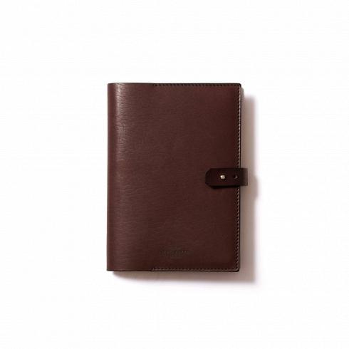 Обложка для ежедневника Ramme, коричневая