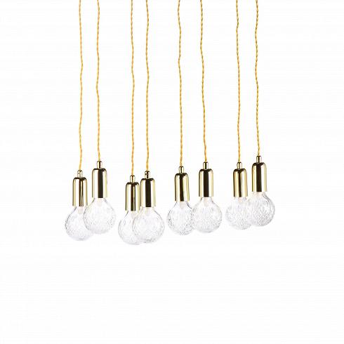 Подвесной светильник Crystal BulbПодвесные<br>Светильники в фоме гильз или капсул быстро набирают популярность, они стильные и практичные, подходящие практически под каждый интерьер. Подвесной светильник Crystal Bulb- это наборсветильников в количестве семи штук.<br><br><br> Такие светильники легко осветят даже самую большую залу, придадут торжественности. Покупая целый набор, можно украсить непривычными деталями декора полностью весь дом или квартиру. Несмотря на миниатюрность, лампочки дают достаточно много света, хватаю...<br>